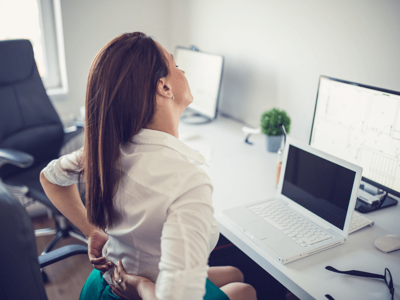 A Sedentary Lifestyle and Your Spine